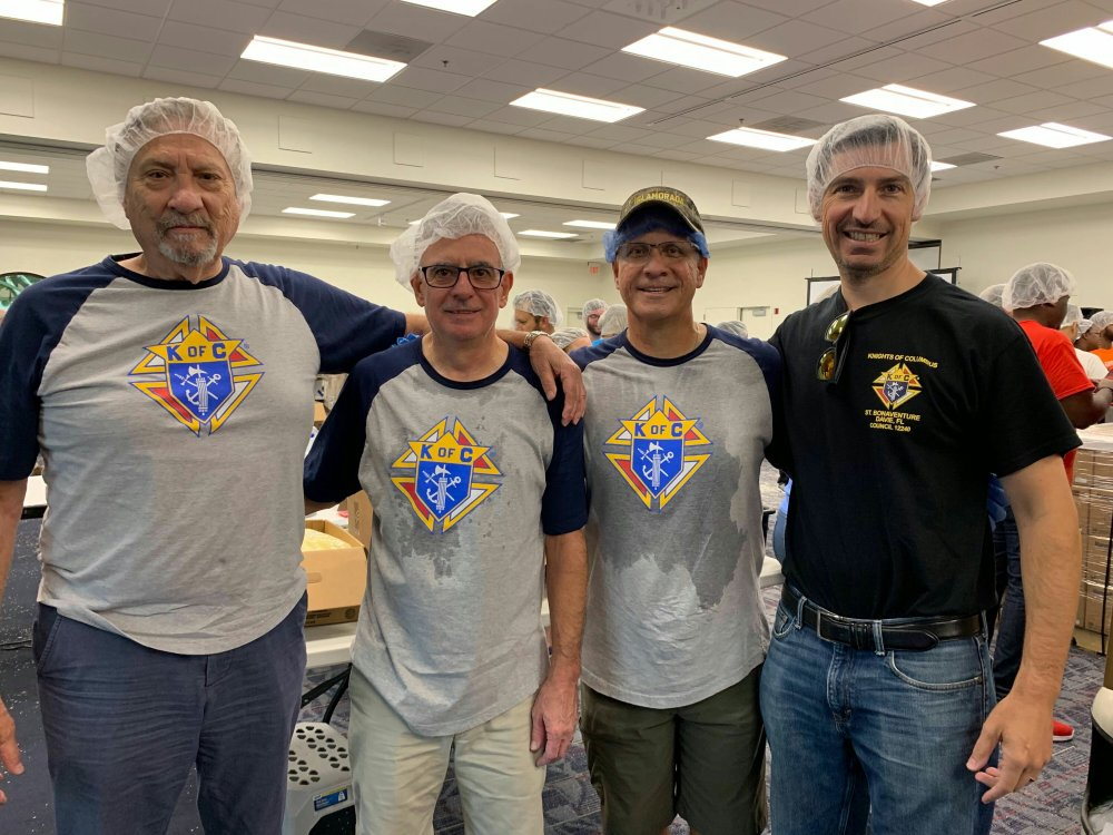 KofC Council 12240   Food for the Poor