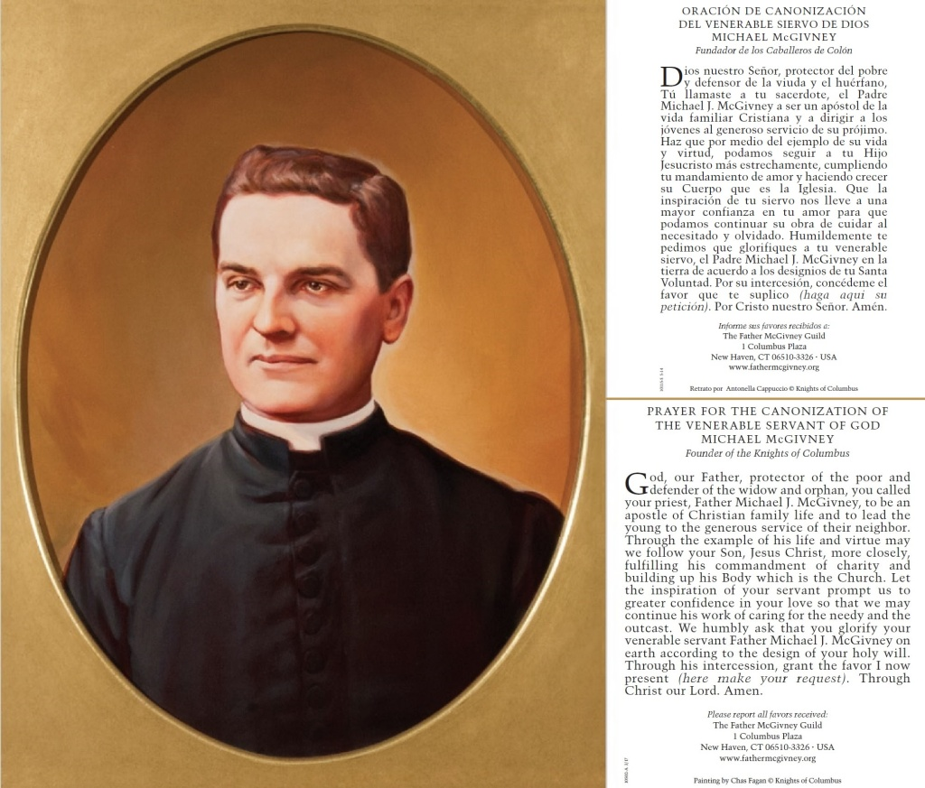 Founder of the Knights of Columbus Catholic fraternal organization, will be beatified on October 31. #kofc #kofc12240